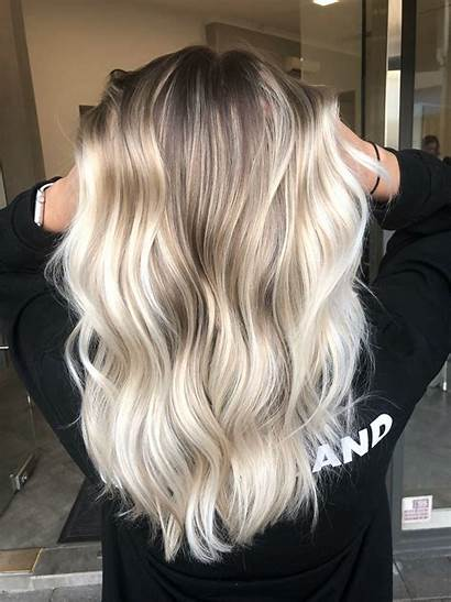 Balayage Blonde Ombre Colour Shadow Root Lived