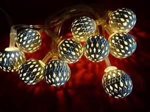 Led Lichterkette Kugeln : led lichterkette kugeln lichterketten weihnachten 10er warmwei led deko lampen ebay ~ Frokenaadalensverden.com Haus und Dekorationen