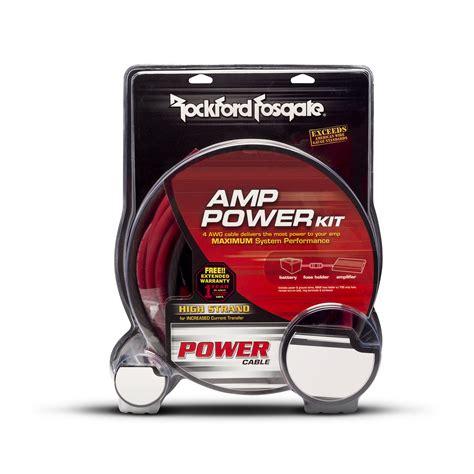 Rockford Fosgate Rfkx Awg Power Wiring Kit Inclu Rca