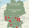 Us Military: Map Of Us Military Bases In Germany