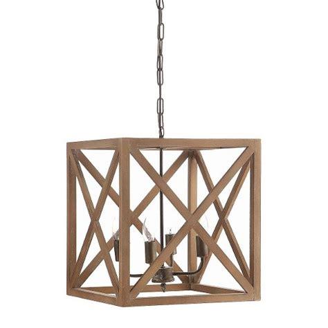metal and wood chandelier metal wood chandelier target