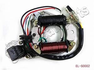 Atv Quad Stator Ignition Magneto Plate 50 110 125 110cc