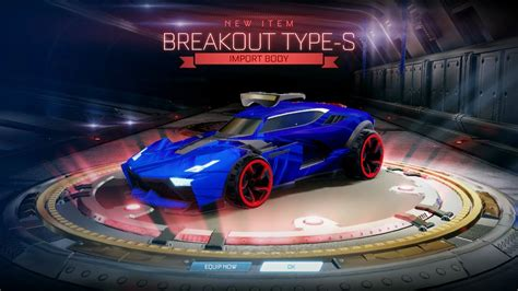 Breakout Type-s And Mystery Universal Decal In Two