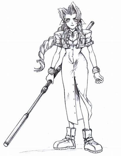 Fantasy Final Nomura Tetsuya Iconic Aerith Concept