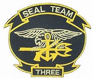 Seal Team 3 Small Patch