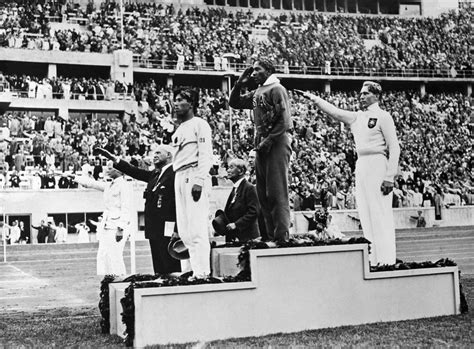 Black Athletes Defy Jim Crow, Hitler In 1936 Olympics ...