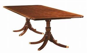 Henkel harris 96 x 48 rectangular dining table 2296a for Henkel harris dining table