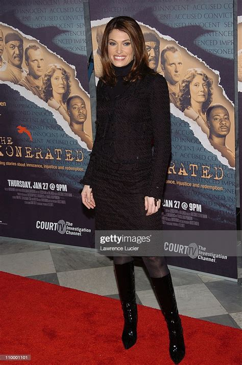 guilfoyle kimberly newsom court tv york movie during exonerated premiere states united getty television radio museum gettyimages