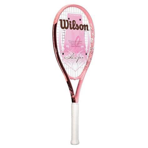 tennis racket wilson wilson hope tennis racket pink