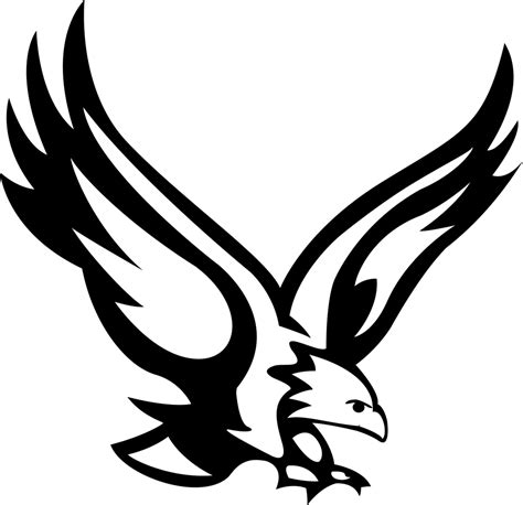 eagle clipart black eagle clipart eagle one pencil and in color black