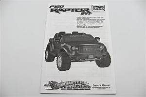 Power Wheels Ford F150 Raptor Manual  W1070