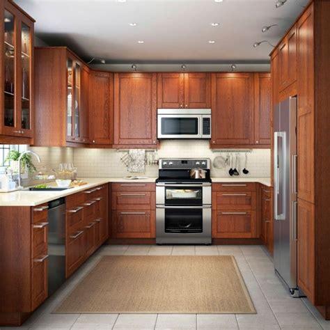 kitchen design brown  shaped kitchen design  led