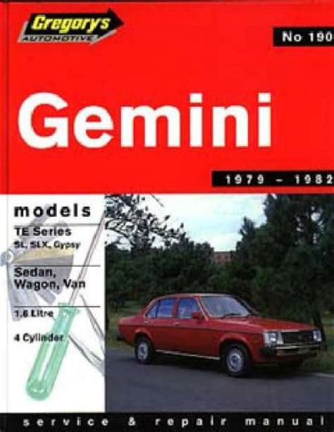 free car repair manuals 1987 pontiac gemini lane departure warning holden gemini te 1979 1982 gregorys service repair manual sagin workshop car manuals repair