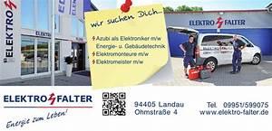 Elektro Landau Isar : karriere elektro falter landau a d isar ~ Markanthonyermac.com Haus und Dekorationen