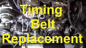 How To Change The Timing Belt In A Toyota V8 2uz  3uz