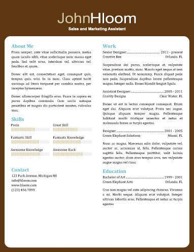 Resume About Me by 49 Creative Resume Templates Unique Non Traditional