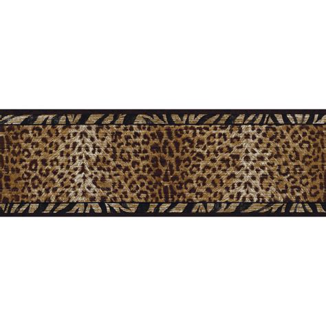 Animal Print Wallpaper Border - zebra print wallpaper border