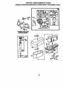 Craftsman 917270430 User Manual 13 5 Hp 38 Mower 5spd Lawn Tractor Manuals And Guides L9080036