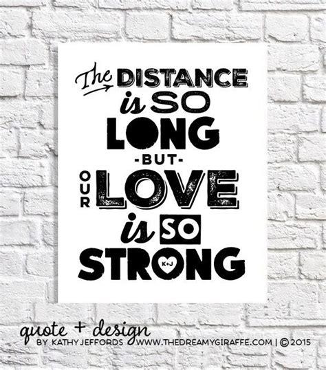 long distance quote art navy girlfriend gift  marine