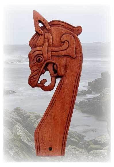 replik drachenkopf gokstad schiff wikinger viking