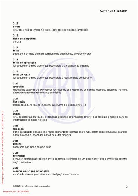 lucas autor em normas abnt pá 2 de 2 nbr 14724 2011 norma da abnt para trabalhos acadêmicos