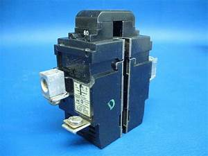 Pushmatic Bulldog Ite 2 Pole 60 Amp Circuit Breaker P260