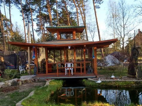 Japanisches Tor Bausatz by Japanischer Pavillon Selber Bauen