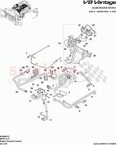Aston Martin V8 Vantage Engine Emission Control Parts