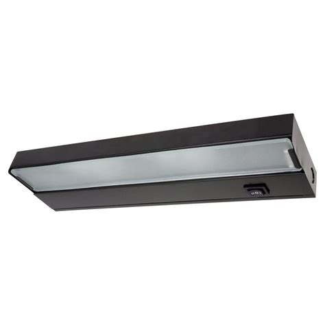 12 5 in xenon black low profile cabinet light