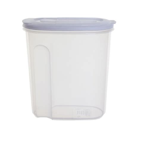 pvc cuisine buy 2 5lt store and pour food and cereal plastic container