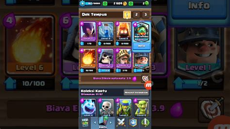 Five Headed Deck 2017 by Clash Royale Combine Deck Arena 8 Legendary Miner And