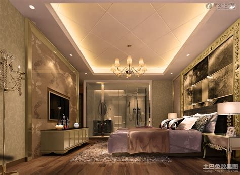 Modern Bedroom Gypsum by Luxurious Style Master Bedroom With Gypsum False Ceiling