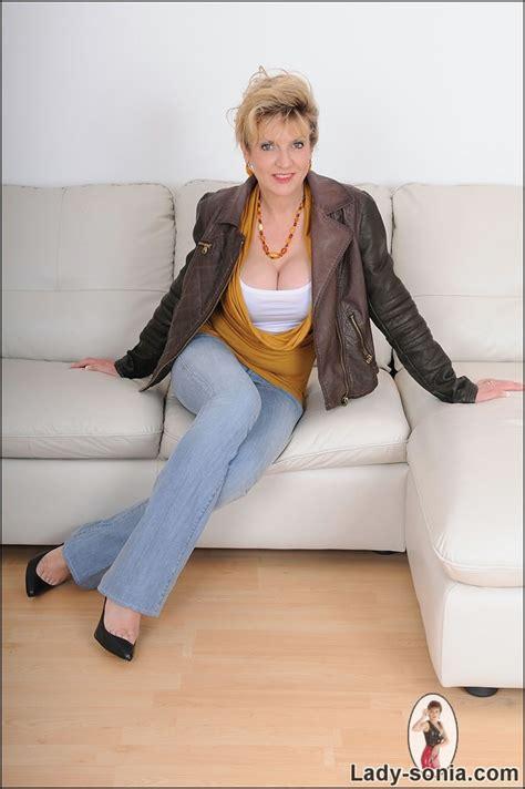 Blonde Milf Jeans