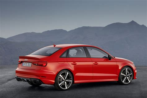 2018 Audi Rs3 Sedan Gets A Price Tag Of $62,900 For Canada