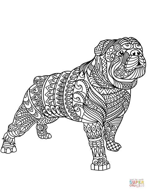 Amerikaanse Bulldog Kleurplaat by Bulldog Kleurplaat Ausmalbilder Mit Hunden Hunde