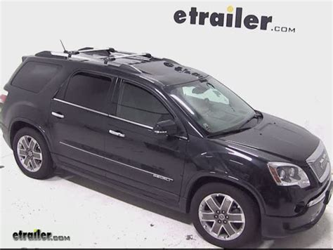 thule aeroblade edge roof rack  factory side rails