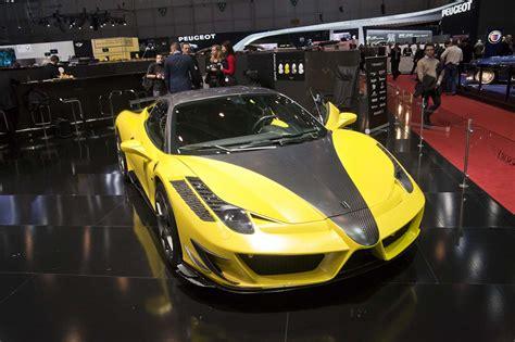 Verbouwde Ferrari 458 Italia Mansory Siracusa Autoblognl
