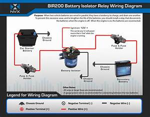 Nvx Bir200 200 Amp Relay Isolator  Bir200
