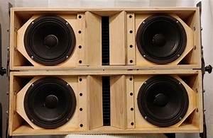 Plans To Build La206 Dual 6 5 U0026quot  Line Array Speaker Cabinet
