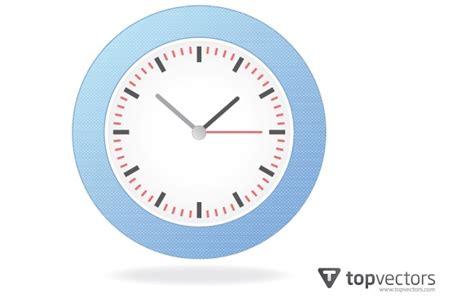 Realistic Simple Analog Wall Clock