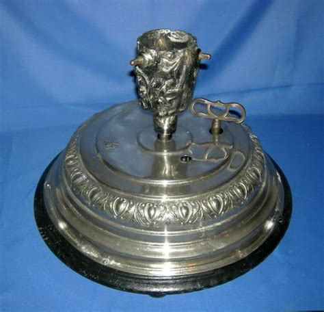 musical spinning tree stand antique german feather tree stand musical revolving jc eckardt box