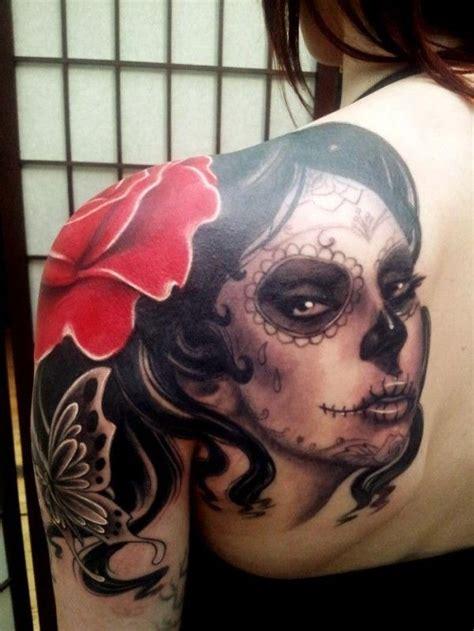tatuajes de catrina mexicana imagui