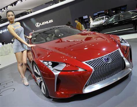 silver lexus mean girls lexus lf lc display photos 2014 l a auto show auto