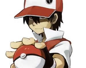pokemon master red wallpaper