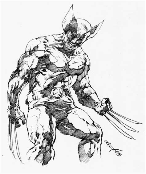 Wolverinesketch By Dwinbotp On Deviantart