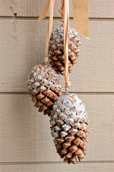 pine cone crafts pine cone diy projects to welcome fall