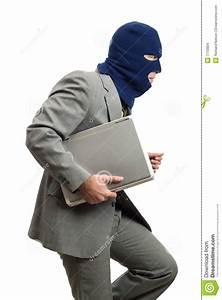 Computer Thief Stock Photo  Image Of Criminal  Data
