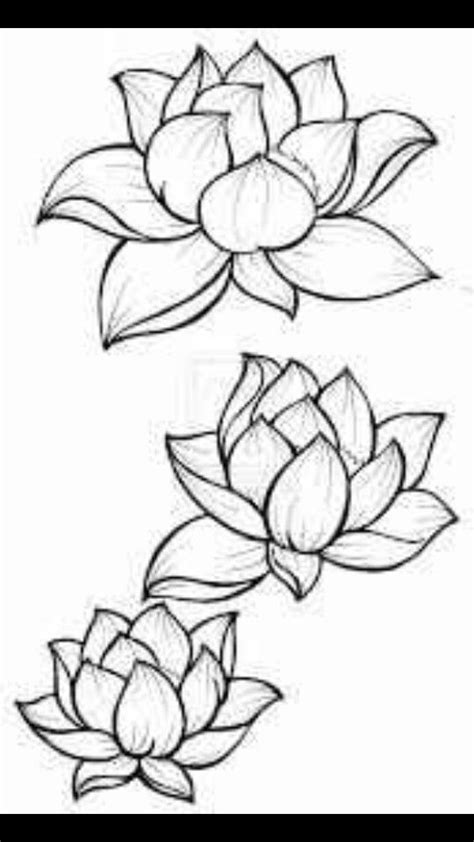 Lotus flower outline | Tattoos | Clipart library - Clip Art Library