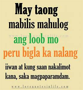 Hugot Tagalog Quotes QuotesGram
