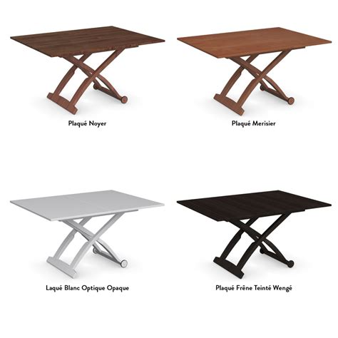 Table Basse Laque Blanc But #4  Table Basse Relevable